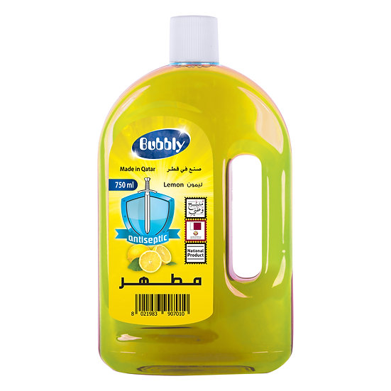 Bubbly Antiseptic Lemon 750ml