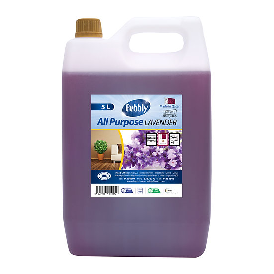 Bubbly All Purpose  Lavender 5L