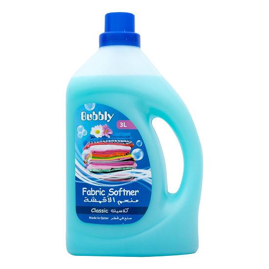 Bubbly Fabric Softner Classic 3L