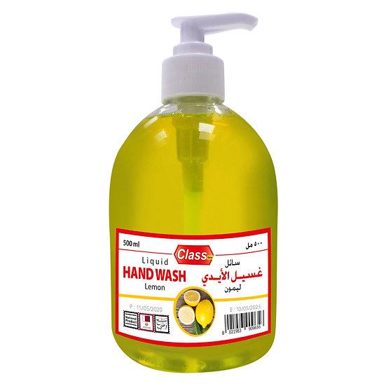Class Hand Wash Lemon 500ml