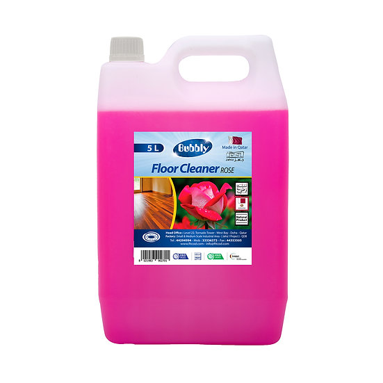 Bubbly Floor Cleaner Rose 5L