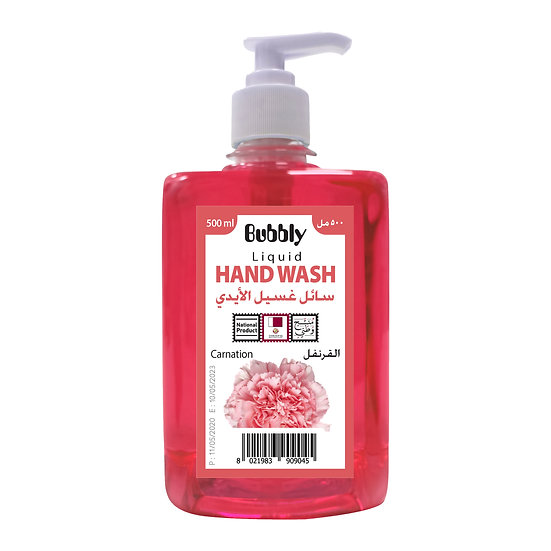 Bubbly Hand Wash Carnation 500ml
