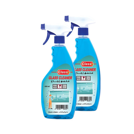Glass Cleaner 650 ml - 2 pieces