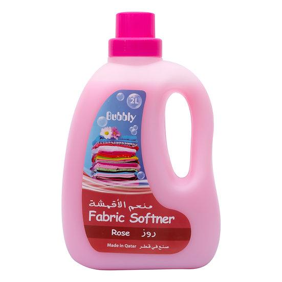 Bubbly Fabric Softner Rose 2L