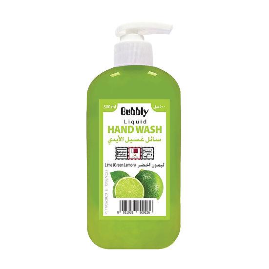 Bubbly Hand Wash Lime (Green Lemon) 500ml