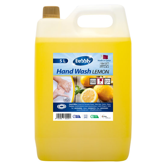 Bubbly Hand Wash  Lemon 5L