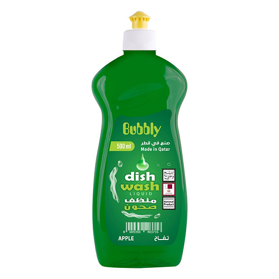 Bubbly Dish Wash Apple 500ml