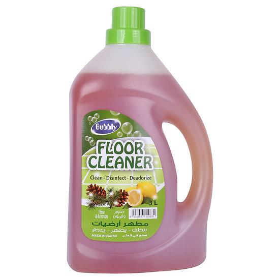 Bubbly Floor Cleaner Pine& Lemon  3L