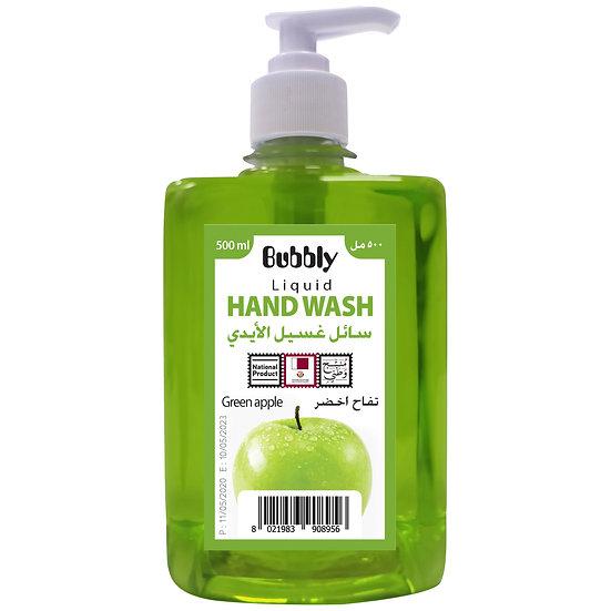 Bubbly Hand Wash Green apple 500ml