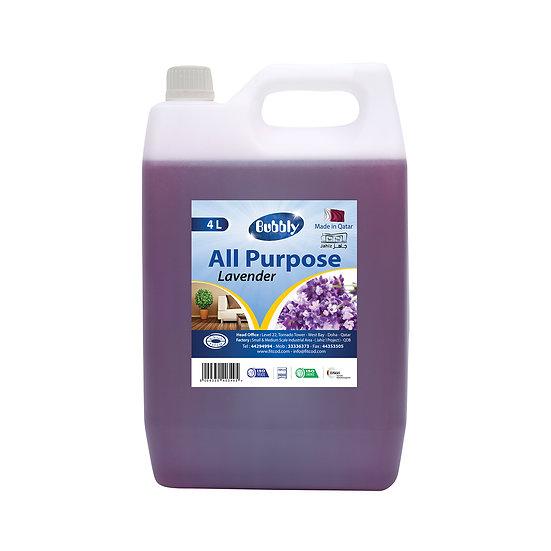 Bubbly All Purpose Lavender 4L