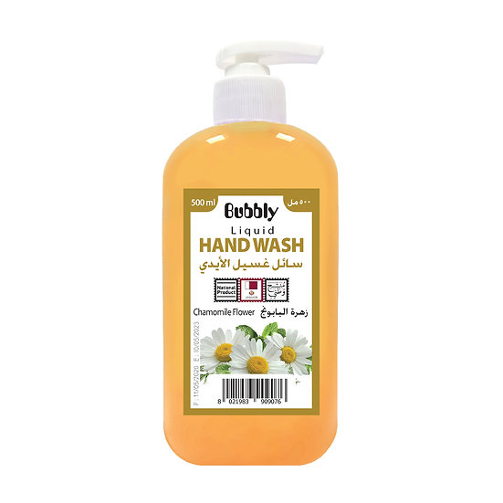 Bubbly Hand Wash Chamomile flower 500ml