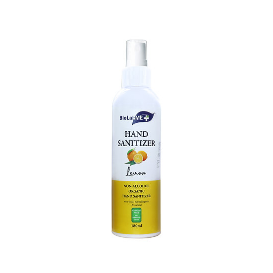 Hand Sanitizer lemon non-alcoholic organic 180 ml
