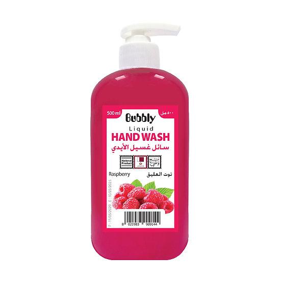 Bubbly Hand Wash Raspberry 500ml