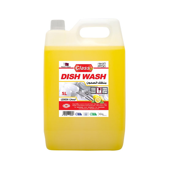 Class Dish Wash Lemon 5L