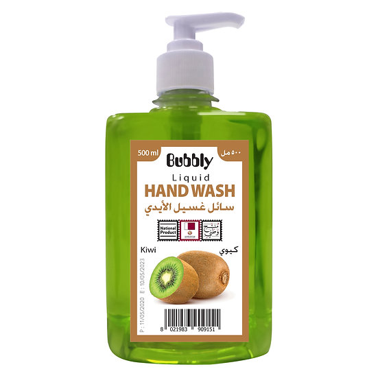 Bubbly Hand Wash Kiwi 500ml