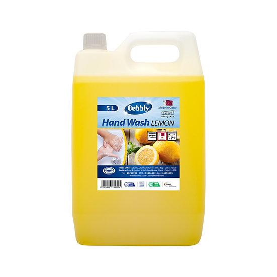 Bubbly Hand Wash  Lemon 5L