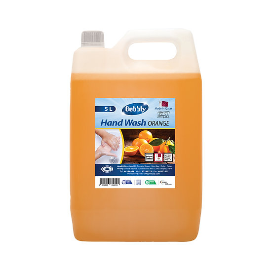 Bubbly Hand Wash Orange 5L