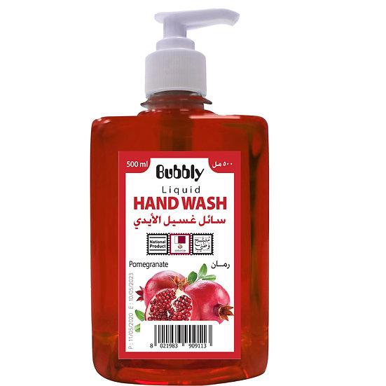 Bubbly Hand Wash Pomegranate 500ml