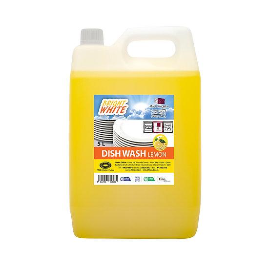 Brightwhite Dish Wash Lemon 5L