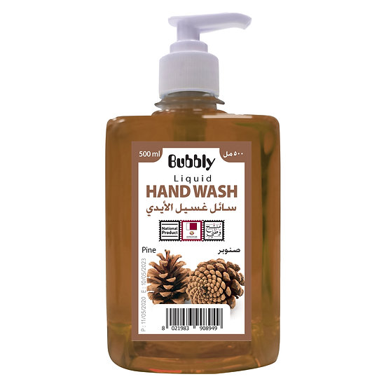 Bubbly Hand Wash pine 500ml