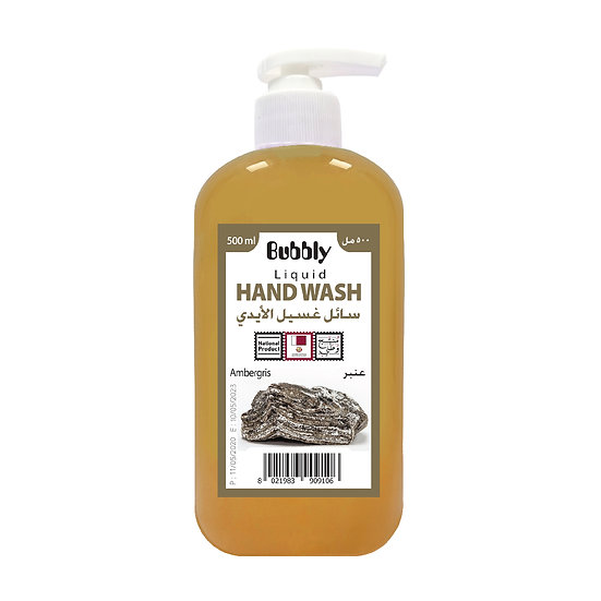 Bubbly Hand Wash Ambergris 500ml