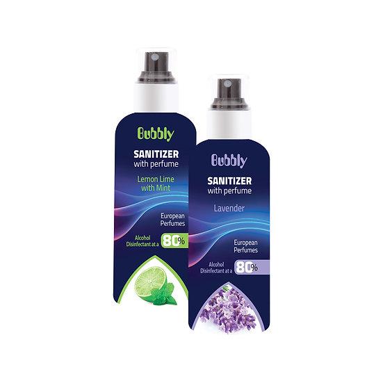 Hand Sanitizer - Various Flavours - 180 ml - 2  pieces