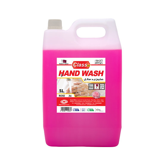 Class Hand Wash Rose 5L