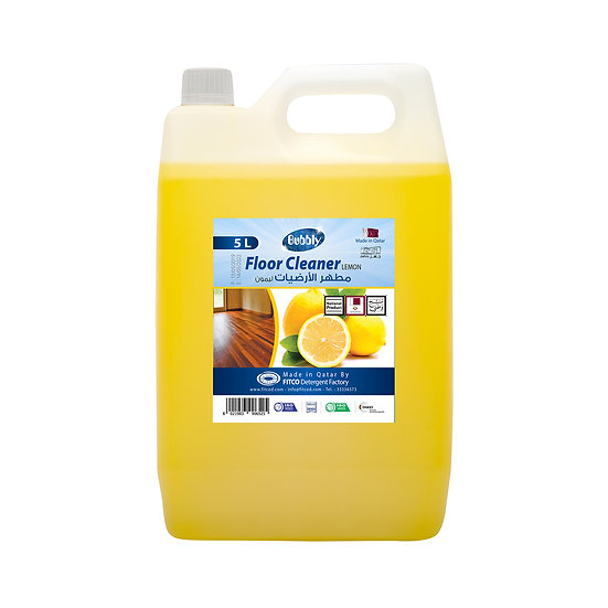 Bubbly Floor cleaner lemon 5L