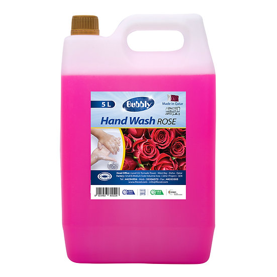 Bubbly Hand Wash Rose  5L