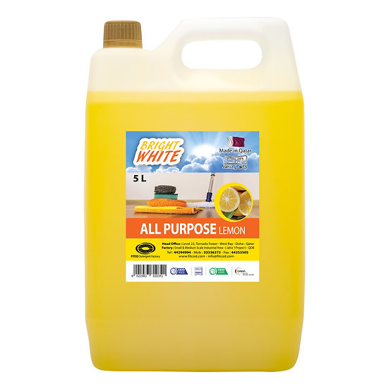 Brightwhite All Purpose Lemon 5L