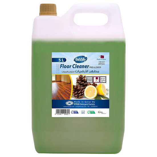 Bubbly Floor Cleaner Pine & lemon 5L