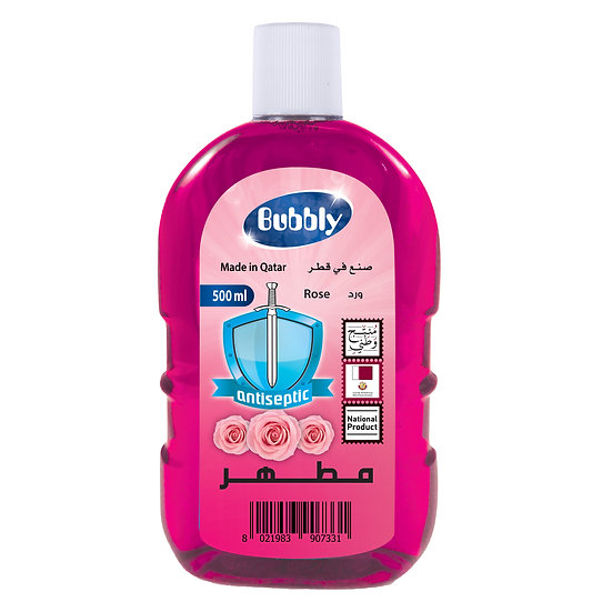 Bubbly Antiseptic Rose 500ml