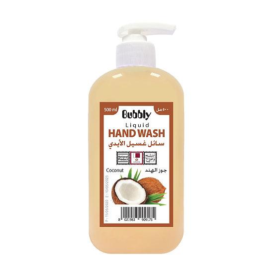 Bubbly Hand Wash Coconut 500ml