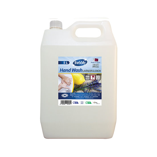 Bubbly Hand Wash Lavender & Lemon 5L