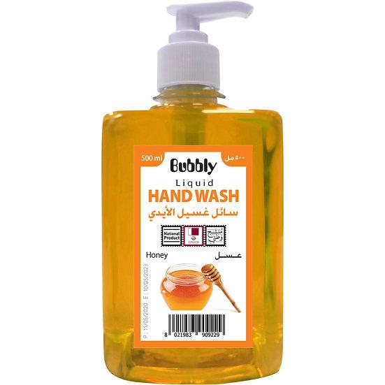 Bubbly Hand Wash Honey 500ml