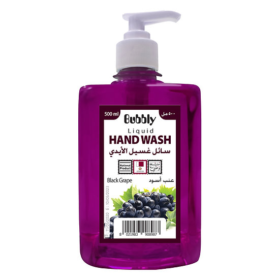 Bubbly Hand Wash Black Grape 500ml