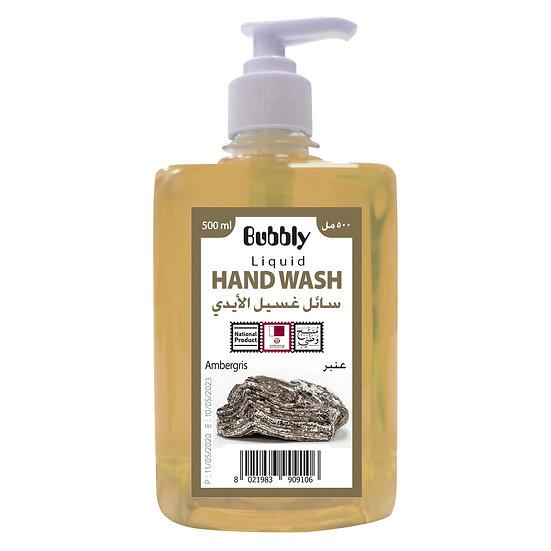 Bubbly Hand Wash Ambergris 500ml