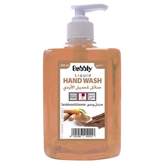Bubbly Hand Wash Sandalwood & Incense 500ml
