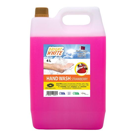 Brightwhite Hand Wash Strawberry 4L