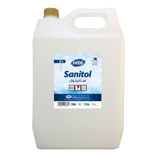 Bubbly Sanitol 5L
