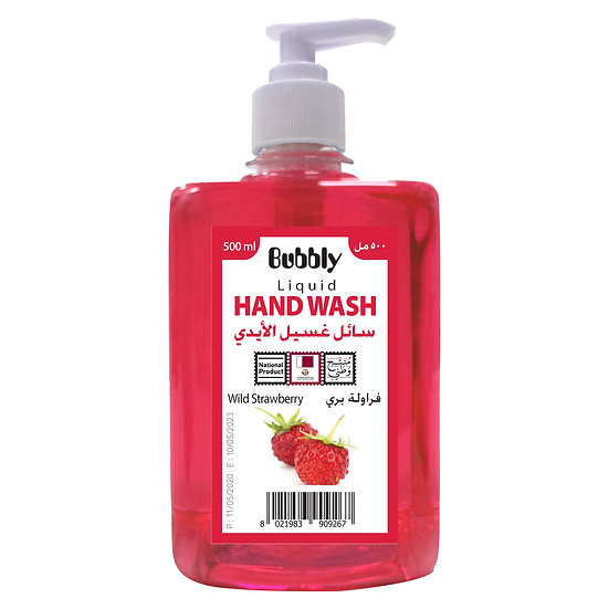 Bubbly Hand Wash Wild strawberry 500ml