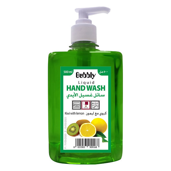 Bubbly Hand Wash Kiwi with lemon 500ml
