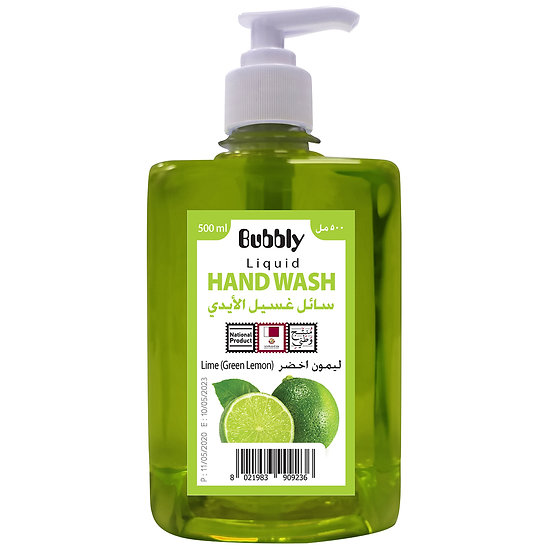 Bubbly Hand Wash Lime (Green Lemon) 500ml