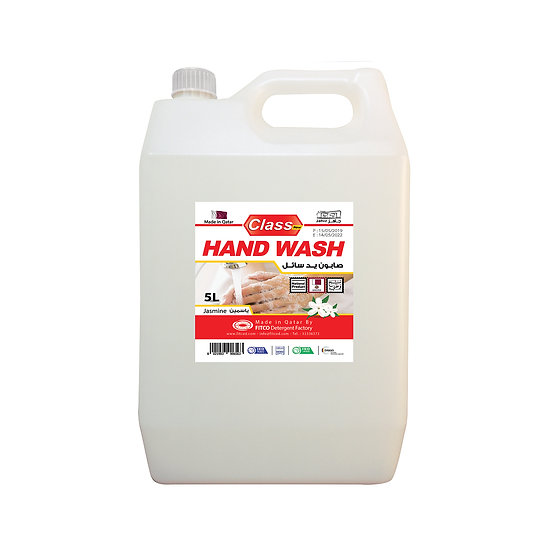Class Hand Wash Jasmine 5L