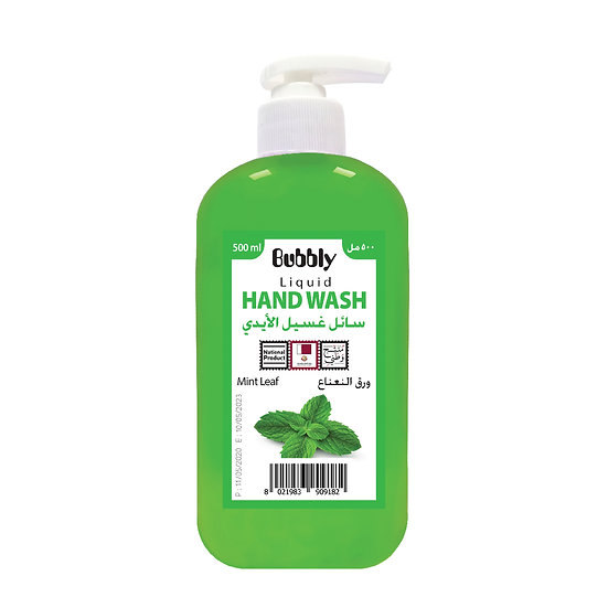 Bubbly Hand Wash Mint leaf 500ml