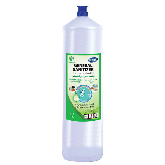 Bubbly General Sanitizer Non-alcoholic Concentration 6% 1L