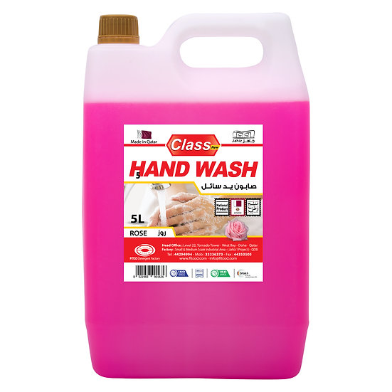 Class Hand Wash Rose 5L