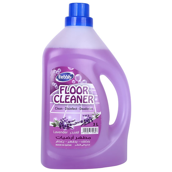 Bubbly Floor Cleaner Lavender  3L