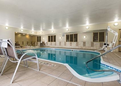 Hampton Inn Pool - Woodbury MN