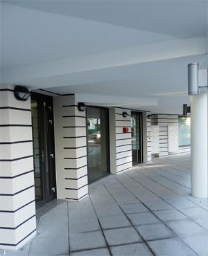 entrée immeuble neuf annecy centre